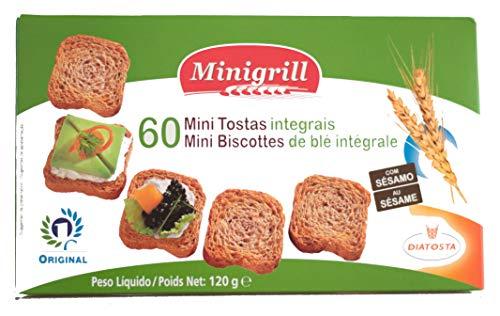 Diatosta® Mini Toasties Vollkorn mit Sesam 120g Karton