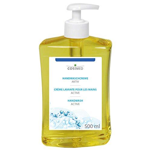 cosiMed Handwaschcreme verstärkt, Handreiniger, Handreinigungscreme, 500 ml