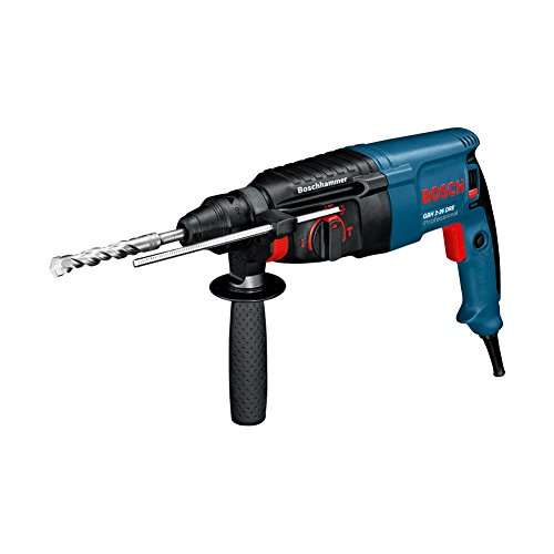 Bosch GBH 2-26 DRE Professional Rotary Hammer with SDS-plus The Fast All - Rounder For Daily Use Easy Grip 800W (220v Corded Europe type C plug)
