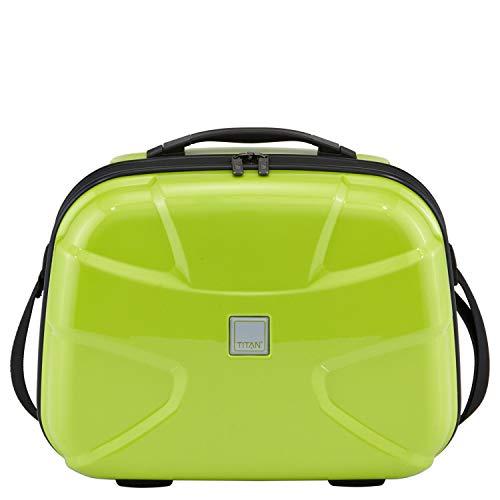 TITAN X2 Beauytcase, 825702-13 Kosmetikkoffer, 38 cm, 23 L, Lime Green