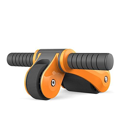 JIEOR Hervidor de agua portátil de Hantel para fitness con relleno de agua y pesas, de plástico, hervidor de agua, para entrenamiento muscular, aparato de fitness (naranja)
