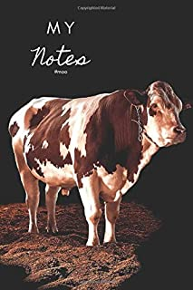 My Notes: #Moo: (Lined, 200 Page Notebook & Personal Diary)