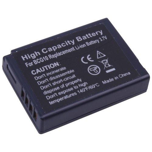 foto-kontor Kamera Akku für Panasonic Lumix DMC-TZ6 Lumix DMC-TZ7 Lumix DMC-TZ10 Lumix DMC-TZ8 Lumix DMC-ZX1 Lumix DMC-ZX3 Lumix DMC-TZ18 Lumix DMC-TZ22 Ersatzakku Accu Batterie