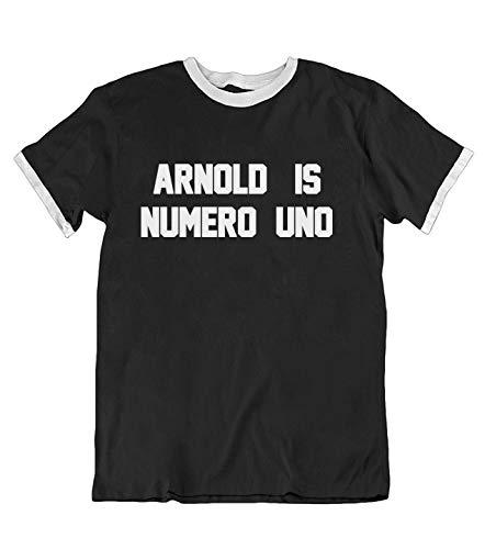 buzz shirts - Arnold Is Numero Uno - Camiseta Unisex para Hombre
