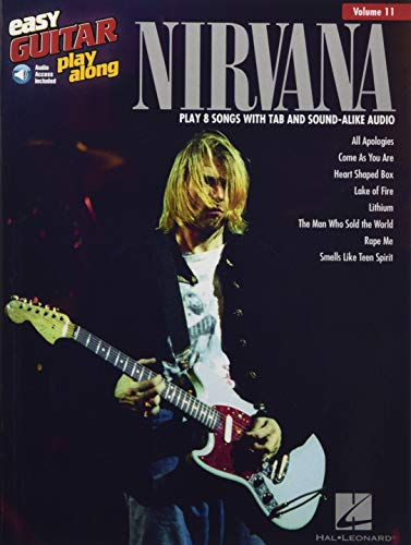 Nirvana: Easy Guitar Play-Along Volume 11 (Book & Online Audio)