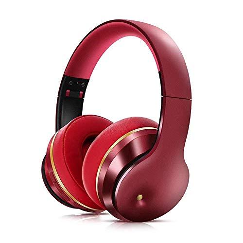 casque gamer Casque Bluetooth Annulation active du bruit Casque sans fil Casque de basse profond pliable avec microphone de musique