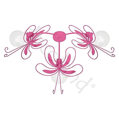 PAZ III Rosa scuro Lampada per bambini Bambini luce Lampadari Lampada a sospensione