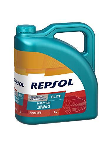 REPSOL Elite Injection 10W-40 Aceite De Motor Para Coche, 4l
