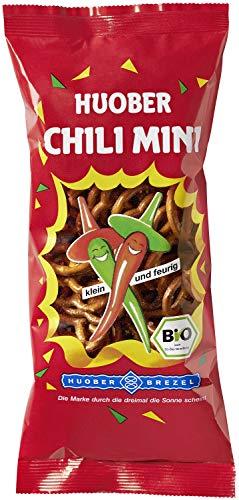 HUOBER Bio Chili Mini Brezel, 75 g