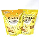 Prince of Peace 100% Natural Ginger Candy - Original & Lemon Mix 1lb - More than 100 + pieces in Fusion Select Gift Box