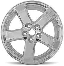 Road Ready Car Wheel For 2005-2009 Pontiac G6 2008 Chevrolet Malibu 17 Inch 5 Lug Chrome Rim Fits R17 Tire - Exact OEM Replacement - Full-Size Spare