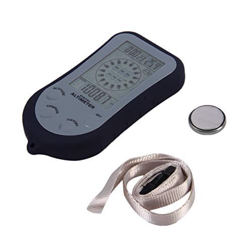 Tellaboull for IPX 4 Wasserdichte LCD Digital Mini Tragbare Kompass Höhenmesser Barometer Für Angeln Im Freien Camping Wandern Sport