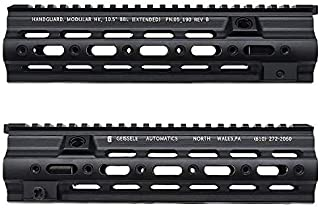 Geissele ガイズリー SMRタイプ AEG GBB HK416用 ハンドガード 10.5インチ (BK)
