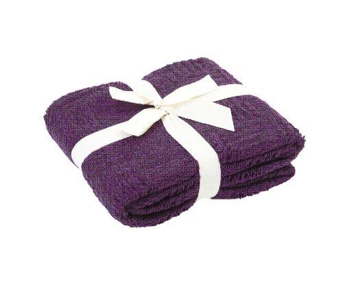 atenas home textile Manta Plaid Etoile - 130X170-100% poliéster - Morado