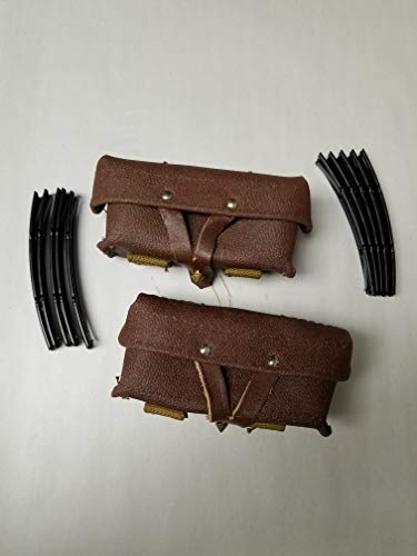 Russian Ammo Pouches Set of 2 Pieces Complete with 10 Loading Tools. Northridge International INC.