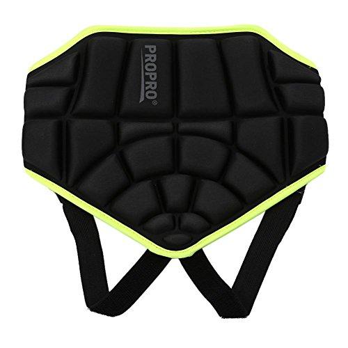 Qii lu Protective Butt Pad Antislip, met heupgevulde shorts verstelbare, gevoerde, korte broek voor scooters extreme sporten skaten hockey voetbal skiën snowboard jonger dan 12 jaar