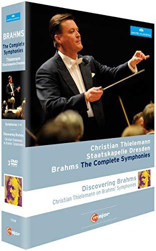 Brahms: Sämtliche Sinfonien (Thielemann / Staatskapelle Dresden) [3 DVDs]