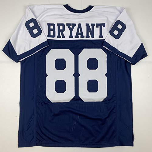 Unsigned Dez Bryant Dallas Thanksgiving Day Custom Stitched Football Jersey Size Men's XL New No Brands/Logos