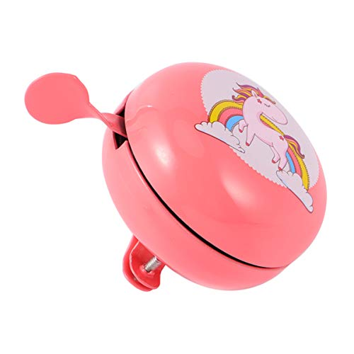 CLISPEED Kids Bicycle Bell Cute Unicorn Mini Bike Bell Cycling Ring Alarm Handlebars Bell For Scooter Tricycle Children