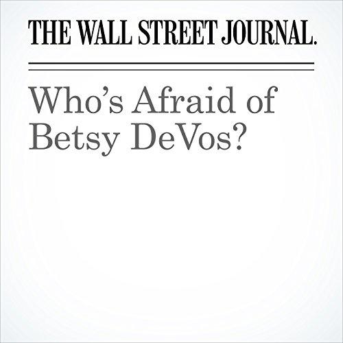 Who's Afraid of Betsy DeVos? copertina