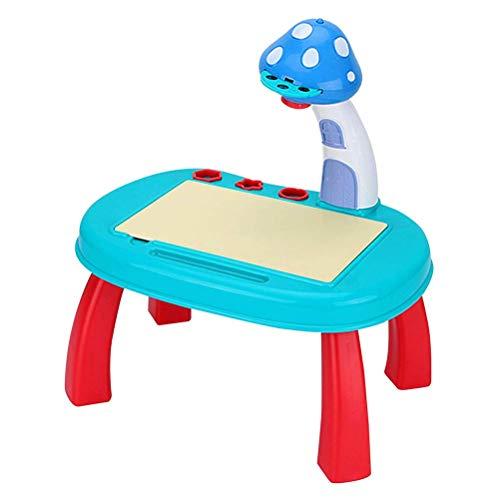 FENGLI Juguete de Tablero de Dibujo para niños, proyector Aprendizaje y Dibujo Pintura Pintura Kids Proyector Sketchers Projectores Proyector Inteligente Dibujo Proyector Tracer