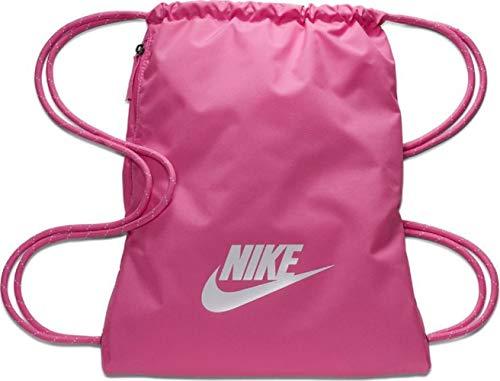 Nike Heritage 2.0 Gymbag Gymsack Turnbeutel (Rose/White, one Size)