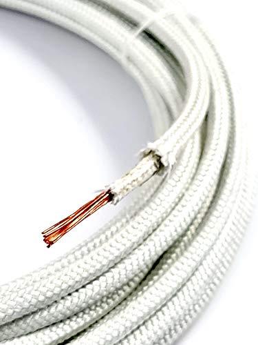 Hitzebeständige Litze, Kabel, Kabelschuhe Mix 5 Meter lang, bis 500°C