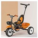 ZWJ-Triciclo para Niños Niños Meter Triciclo, Triciclo Multifuncional niños con la iluminación, Regalo Seguro for 1-5 Años de Edad (Color : 15)