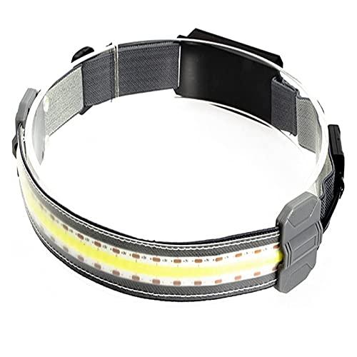 nnko Headlight High Beam Work Lamp Headband, Lightweight USB Rechargeable Led Headlight, Soft Night Light Small, Portable Cycling Headlight, For Outdoor Riding