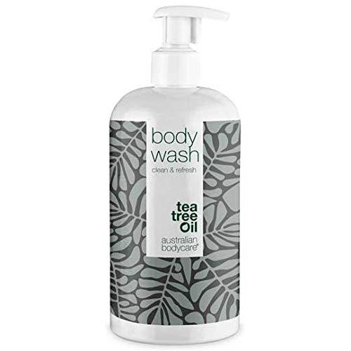 Australian Bodycare Body Wash 500ml | Teebaumöl Duschgel bei Unreiner & Trockener Haut, Pickeln, Juckreiz, Körpergeruch | Auch zur Pflege bei Pilzen, Fußpilz, Ringelflechte, Akne, Schweißfüßen