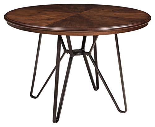 Signature Design by Ashley Mid Century Centiar Dining Room Table, Brown