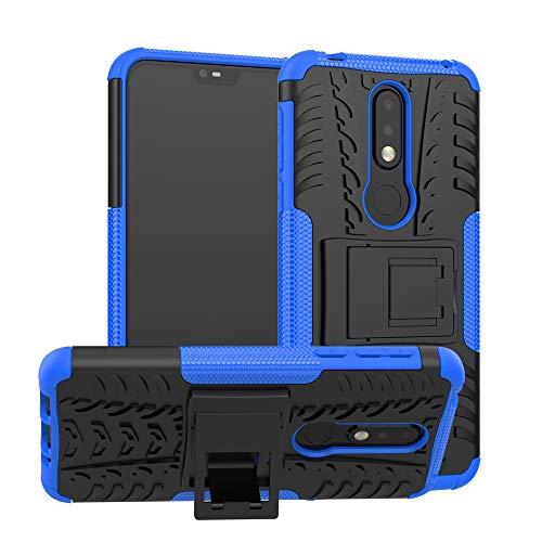HülleExpert Nokia 7.1 Hülle, Hülle Abdeckung Cover Schutzhülle Tough Strong Rugged Shock Proof Handy Tasche Heavy Duty Etui Hüllen Für Nokia 7.1 / Nokia 7 (2018)