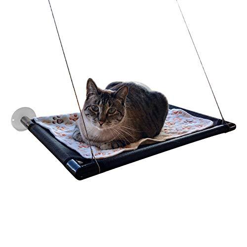 Hamaca para gatos con versión mejorada - Hamaca para ventana de descanso para mascotas