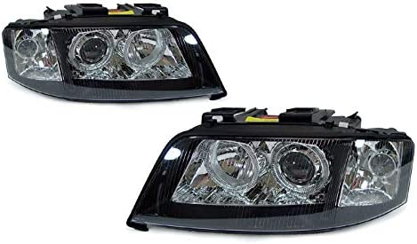 DEPO Black Fashion Angel Eye sale Projector 1998-2 Replacement for Headlights