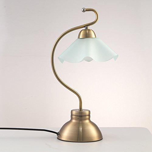 Europees-Style Pastorale Touch-Sensing tafellamp, glazen lampenkap oogbescherming aanraaklamp, geschikt voor slaapkamer-studielampje