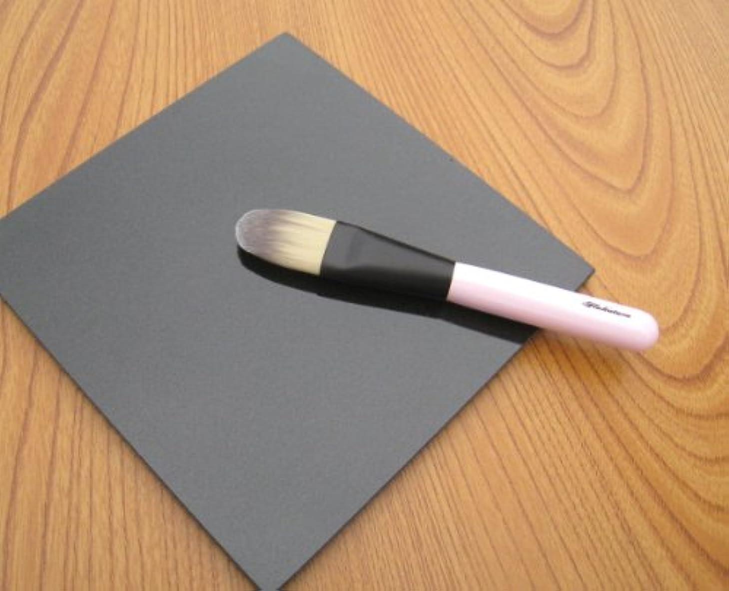 くすぐったい提供された不愉快熊野筆 北斗園 PKシリーズ リキッドファンデーションブラシ