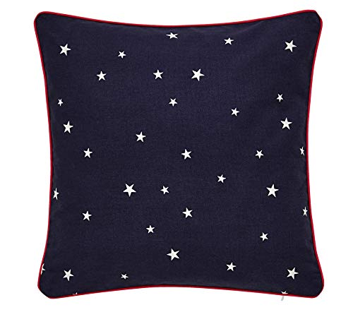 Joules Bircham Bloom Cushion, 40x40, Navy