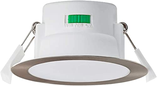 ALUX LED Recessed Ceiling Light Dimmable 10W CCT Downlight Kit, 3 Lighting Colors Adjustable Warm 3000K/Neutral 4000K...