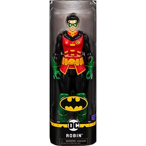 Batman - Robin, Personaggio da 30 cm Articolato, dai 3 Anni - 6056692
