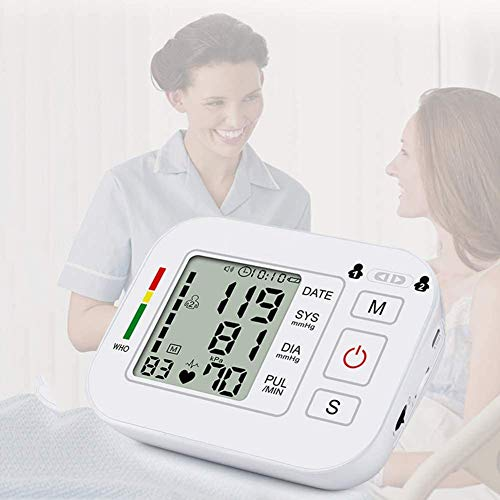 Review Of QIYUE Blood Pressure Monitor, Home Use Digital Upper Arm Automatic Measure Blood Pressure ...