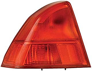 Calavera Izquierdo/Piloto DEPO Compatible con Honda Civic 2001-2002