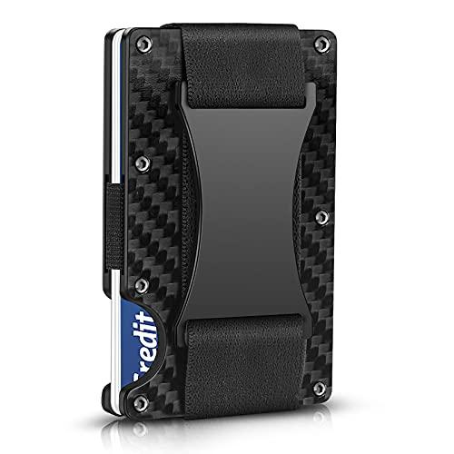 TININ Carbon Fiber Wallet, Slim Min…