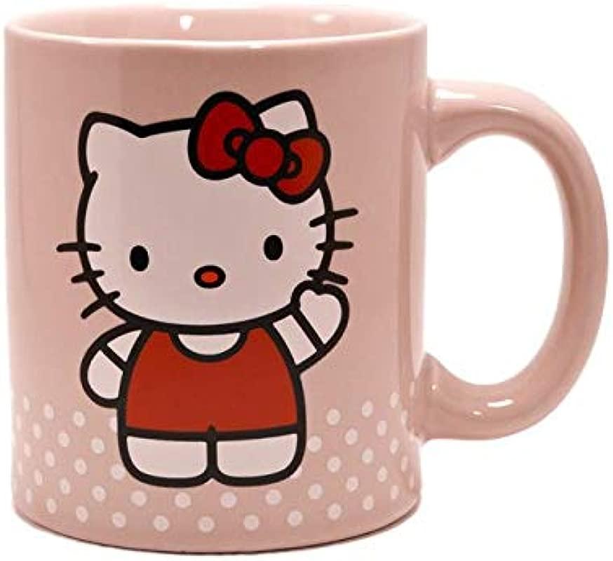 Hello Kitty Pink 12 Oz Mug