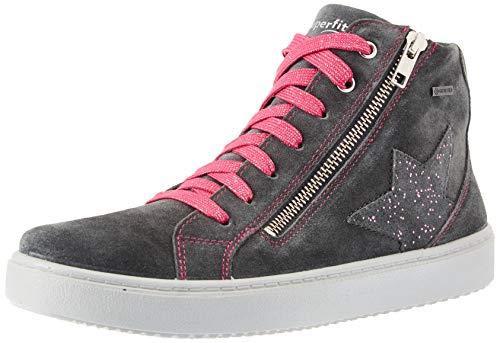 Superfit Mädchen HEAVEN leicht gefütterte Gore-Tex Sneaker, Grau (GRAU/ROSA 2000), 38 EU