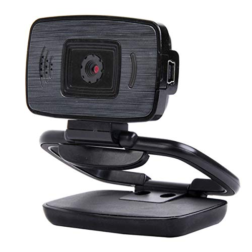 SOONHUA HD Webcam, USB Desktop Laptop Camera, Mini Plug and Play Video Calling Computer Camera, Ingebouwde Mic, Flexibele Draaibare Clip USB 2.0 Driver-free Computer Webcam voor Netmeeting Live Streaming