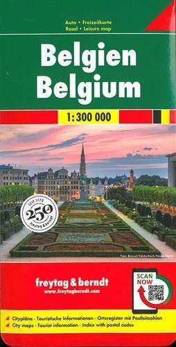F&B België: Toeristische wegenkaart 1:300 000