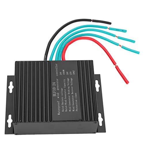 F10-24V 1000W Controlador de Carga de Viento, Controlador de Turbina Eólica Impermeable Controladores de Energías Renovables Regulador de Carga de Batería Segura para Turbina de Molino de Viento
