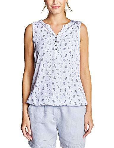 CECIL Damen 341455 Bluse per pack Mehrfarbig (White 20000), XX-Large (Herstellergröße:XXL)