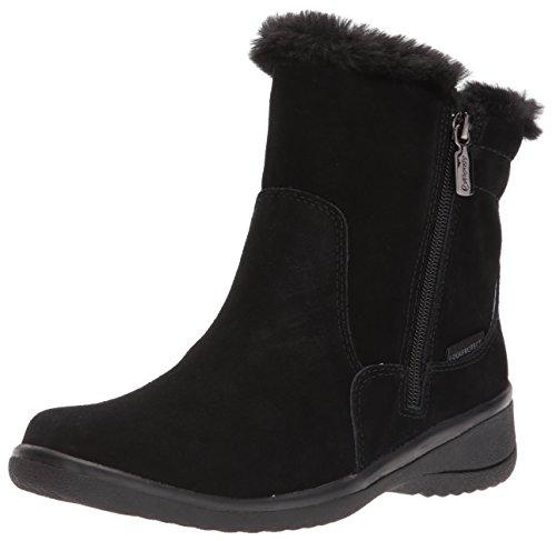Blondo Women's Silas Waterproof Snow Boot, Black Suede, 9 M US
