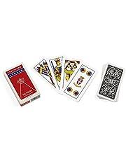 Dal Negro 10073 - Trevisane Italia regionale speelkaarten, etui rood